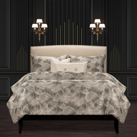 F Scott Fitzgerald Ocean Crossing Noir Luxury Duvet Set