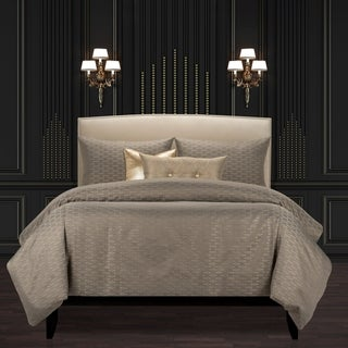 Link to F Scott Fitzgerald Star Attraction Nickel Luxury Duvet Cover and Insert Set Similar Items in Duvet Covers & Sets