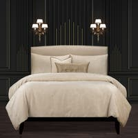 F Scott Fitzgerald Rhythm And Rhyme Cream Luxury Bedding Set