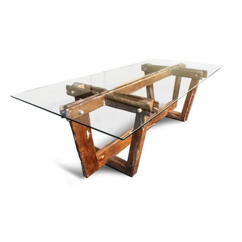 FRAMS Dining Table 255x100x75 - Brown
