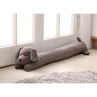 Asher Home Brownie the Brown Dog Draft Guard