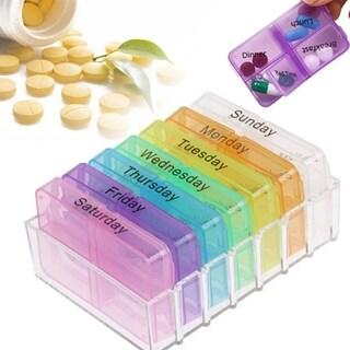 F.S.D Weekly Pop-Up Pill Organizer