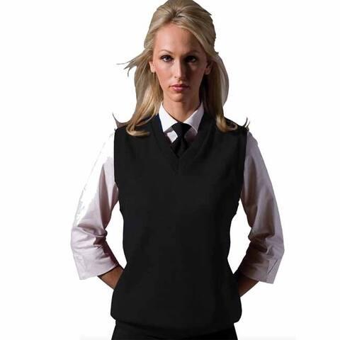 Edwards Garment Women's Jersey Stitch V-Neck Vest