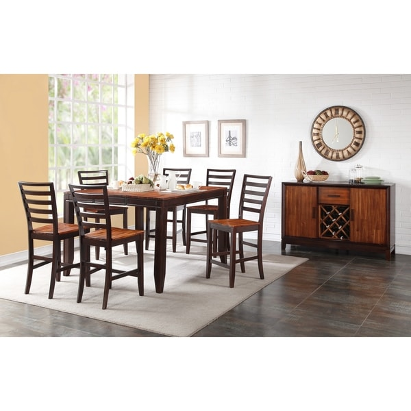 Shop Porter Designs Heritage Park Contemporary Counter Table Brown
