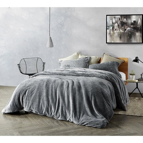 Coma Inducer Duvet Cover   Ub Jealy   Slate Black   King by Byourbed
