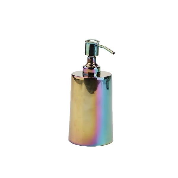 Mind Reader Liquid Soap Dispenser, Lotion Dispenser, 16 Oz, Rainbow