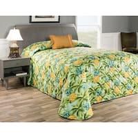 Waikiki pineapple bedspread