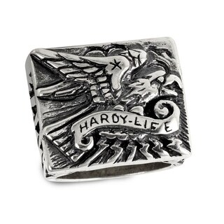 Sterling Silver Eaggle Ring