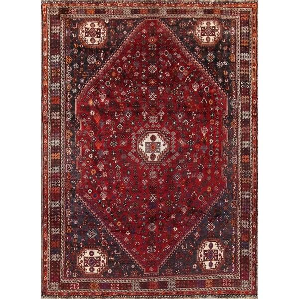 Shop Handmade Geometric Tribal Abadeh Persian Living Room ...