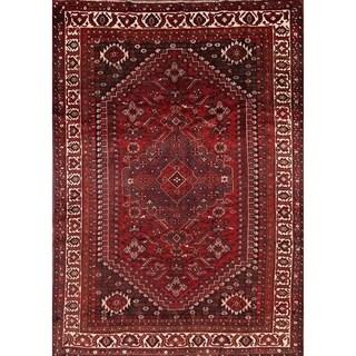 "Traditional Handmade Shiraz Persian Area Rug for Living Room - 10'0"" x 7'1"""