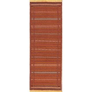 """Copper Grove Vojens Handmade Wool Persian Rug For Living Room - 6'5"""" x 2'4"""" runner"""