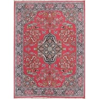 """Copper Grove Giolou Acrylic / PP Floral Pictorial Persian Carpet Heirloom Item Area Rug - 13'2"""" x 9'7"""""""