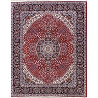 Gracewood Hollow Yerevantsi Soft Plush Floral Persian Area Rug - 12'7 x 9'8