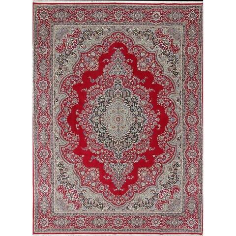 Gracewood Hollow Twinamat Wool Blend Persian Area Rug - 13'3 x 9'7