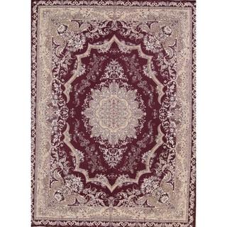 "Copper Grove Deftera Acrylic/Wool Soft Pile Floral Tabriz Persian Style Carpet Area Rug - 13'0"" x 9'5"""