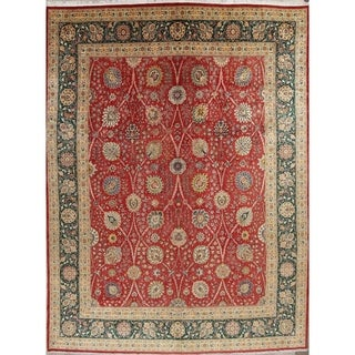 Copper Grove Havirov Hand-knotted Wool Floral Heirloom Area Rug - 15'9 x 12'5