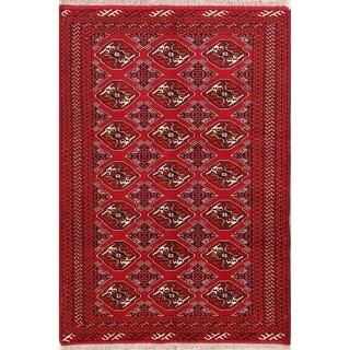 "Handmade Wool Oriental Balouch Persian Carpet Area Rug - 6'4"" x 4'5"""