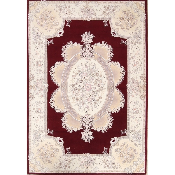 "Porch & Den Robbins Soft Plush Floral Persian Area Rug - 11'4"" x 8'1"""