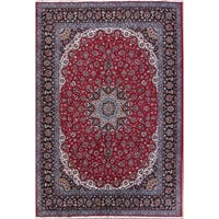 Gracewood Hollow Aslanian Wool Blend Floral Persian Persian Rug - 13'3 x 9'7