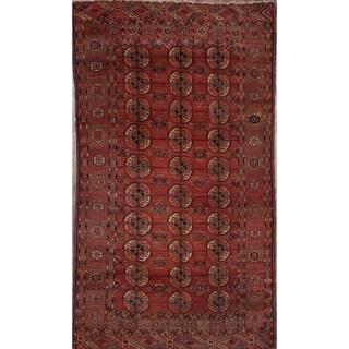 "Antique Hand Knotted Oriental Kazak Shirvan Oriental Carpet Area Rug - 7'4"" x 4'1"""