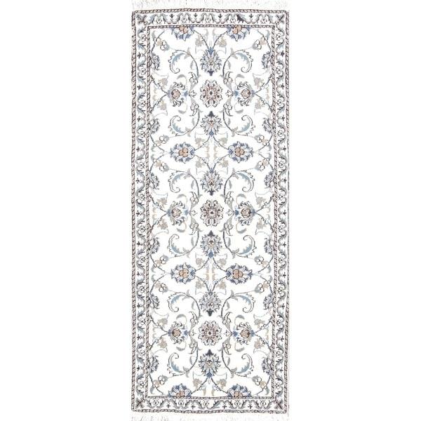 "Gracewood Hollow Kaputik Knotted Blend Persian Floral Floral Rug - 6'5"" x 2'6"" runner"