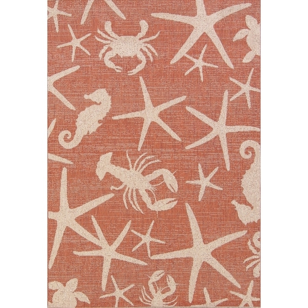 "Animal Pictorial Belgian Oriental Area Rug 100% Wool - 5'2"" x 7'3"""