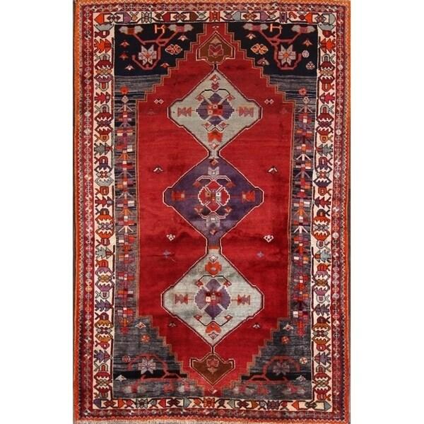 "Gabbeh Kashkoli Classical Shiraz Handmade Area Rug Persian - 7'5"" x 4'8"""