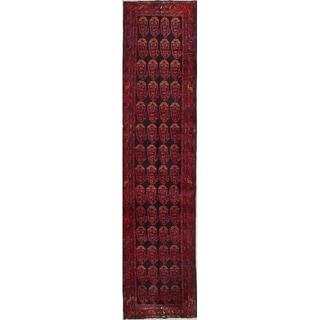 "Gracewood Hollow Vyshnia Handmade Wool Persian Runner Rug - 15'10"" x 3'8"" runner"
