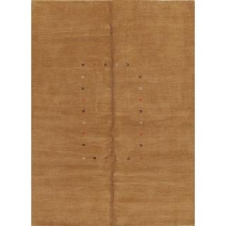 "Handmade Wool Contemporary Gabbeh Indian Oriental Area Rug - 8'1"" x 5'10"""