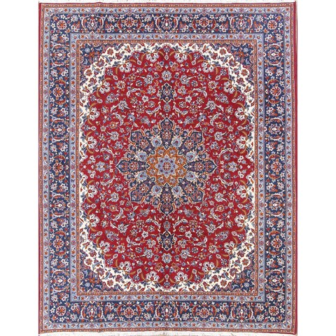 Gracewood Hollow Twong Wool Blend Persian Area Rug - 12'9 x 9'7