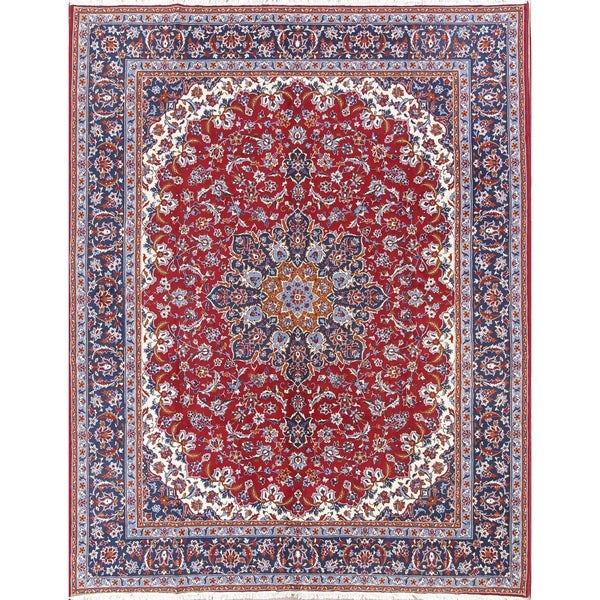 Shop Soft Plush Floral Acrylic And Wool Persian Living