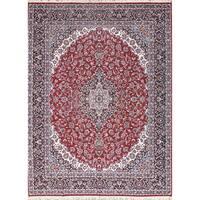 Gracewood Hollow Tatevatsi Wool Blend Soft Plush Persian Area Rug - 13'1 x 9'9