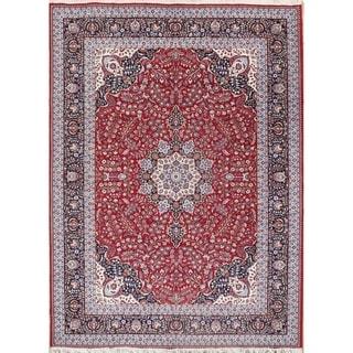 "Gracewood Hollow Dpir Wool Blend Floral Traditional Floral Persian Rug - 13'2"" x 9'7"""