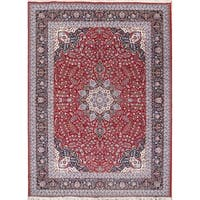 Gracewood Hollow Dpir Wool Blend Floral Traditional Floral Persian Rug - 13'2 x 9'7