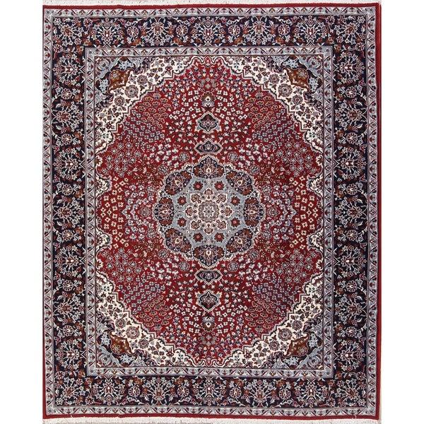 Shop Acrylic Wool Soft Plush Floral Persian Carpet Area