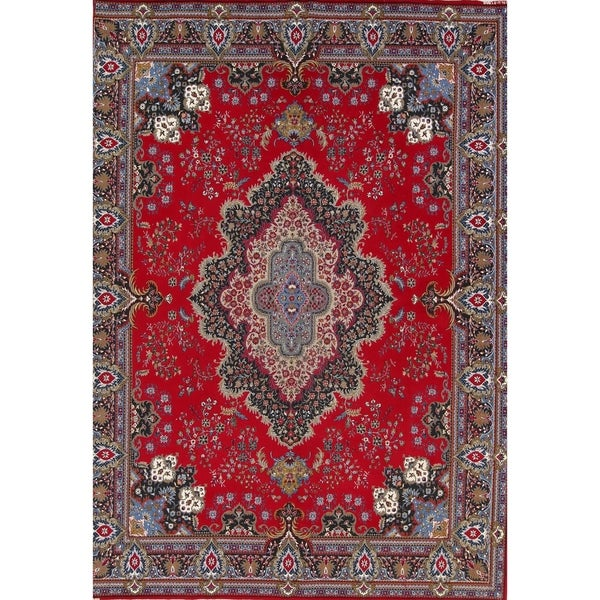 "Copper Grove Kapedes Acrylic/Wool Soft Pile Floral Kerman Persian Style Carpet Area Rug - 13'0"" x 9'4"""