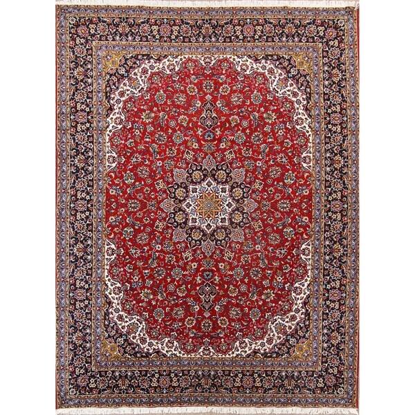 "Copper Grove Kantou Acrylic/Wool Floral Soft Plush Persian Living Room Carpet Area Rug - 13'0"" x 9'9"""