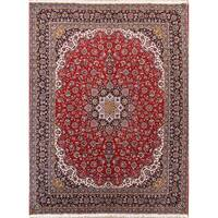 "Copper Grove Kantou Acrylic/Wool Floral Soft Plush Persian Living Room Carpet Area Rug - 13'0"" x 9'9"""