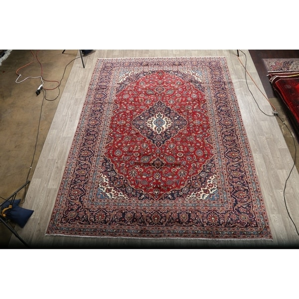 Blue Circle Petals Persien Area Rug Oriental Vines Medallion Oriental Carpet Area Rugs Rugs Carpets
