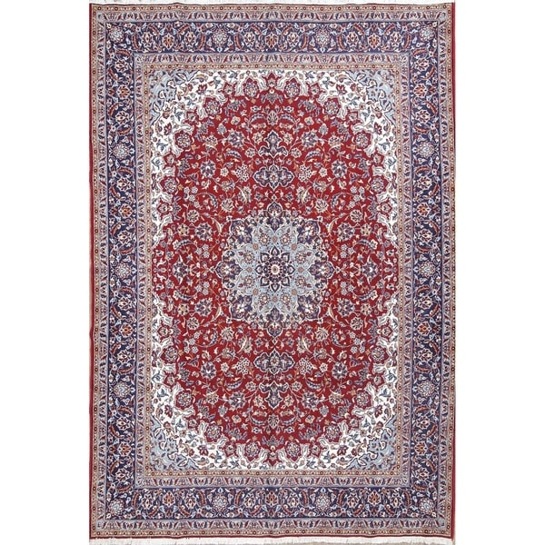 """Copper Grove Kaimakli Acrylic and Wool Floral Persian Carpet Area Rug - 13'1"""" x 9'7"""""""