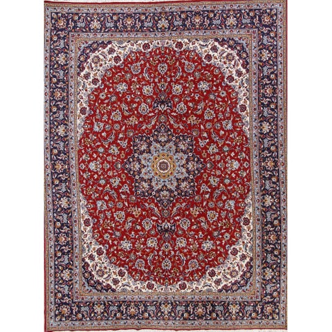Gracewood Hollow Rushedge Medallion Persian Area Rug - 12'10 x 9'8