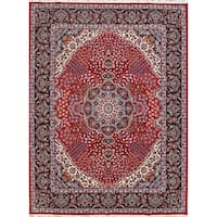 "Copper Grove Kakopetria Acrylic and Wool Floral Soft Plush Persian Carpet Area Rug - 12'10"" x 9'9"""