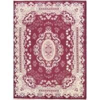 "Copper Grove Kalochorio Acrylic and Wool Floral Tabriz Persian Carpet Heirloom Item Area Rug - 13'0"" x 9'8"""