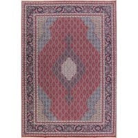 "Copper Grove Idalium Acrylic / Wool Geometric Tabriz Persian Carpet Area Rug - 13'2"" x 9'8"""