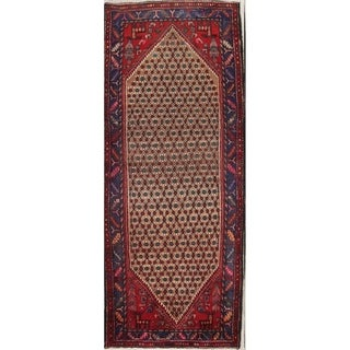 Hand Knotted Woolen Koliaie Persian 9 Foot Runner Rug For Hallway - 8' 10'' x 3' 8''