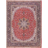 Copper Grove Tallinn Soft Plush Floral Acrylic/Wool Persian Area Rug - 12'1 x 9'8