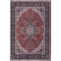 "Copper Grove Kellia Acrylic/Wool Soft Plush Floral Persian Carpet Area Rug - 13'1"" x 9'5"""