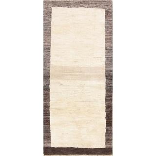 """Strick & Bolton Hansel Thick Handmade Wool Runner Rug - 6'1"""" x 2'9"""" runner"""