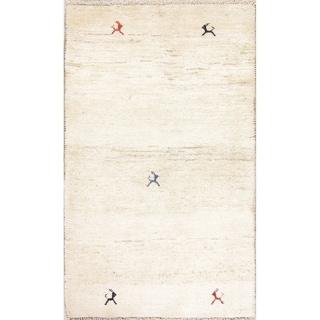 "Carson Carrington Abranna Handmade Wool Tribal Carpet Solid Rug - 5'6"" x 3'3"" runner"