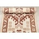 "The Curated Nomad Baptiste Hand-knotted Wool Geometric Oriental Heirloom Item Area Rug - 4'6"" x 2'3"" runner"